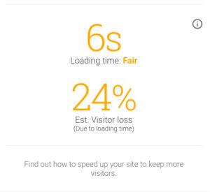 Рис.4 6 секунд это долго для 3G, этот сайт должен грузиться за 3с.